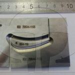 Комплект шаблонов на профиль лопаток турбин